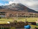 Croagh Patrick from the property