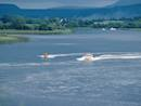 Speedboats on Lough Erne