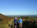 View from the Slieve Bloom mountains