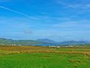 Distant views of Portmagee and Valentia Island