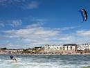 Kite surfing at Duncannon