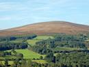 Wicklow Hills which can be seen from the log cabins