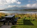 The Mourne Mountains from Keel Point, Dundrum Bay
