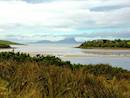 Views across to Clare island from the property