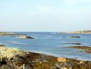 Connemara coastline near the property