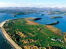 Aerial view of Murvagh beach